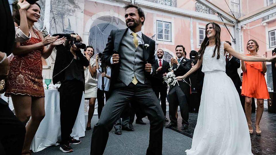 Duarte Pita Negrão com a mulher