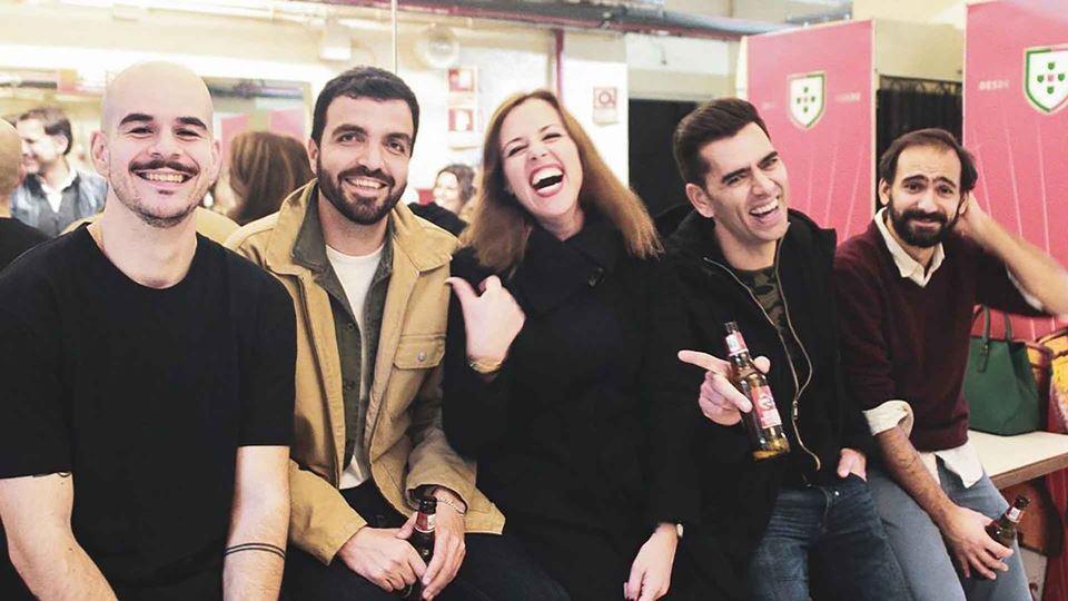 Duarte Pita Negrão com os colegas