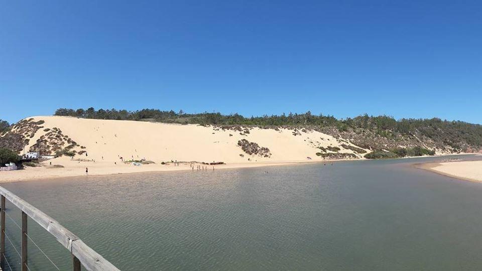 Uma das maiores dunas da Europ...