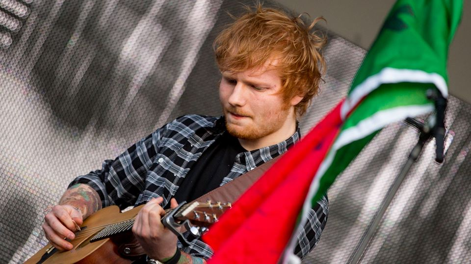 Ed Sheeran no Estádio da Luz