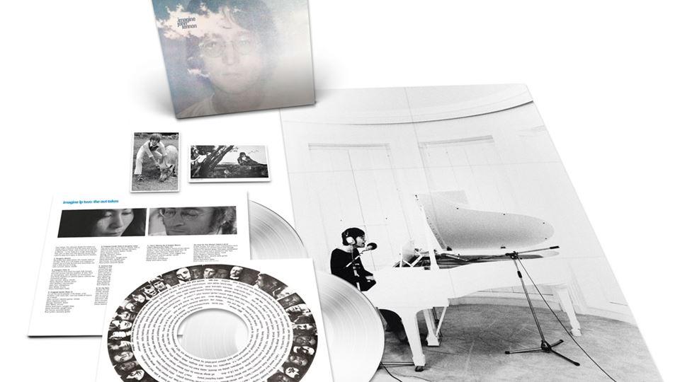 """A caixa """"Imagine"""" que será editada a 5 de Outubro de 2021"""