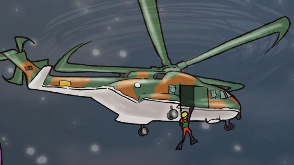 Força Aérea Portuguesa resgata...