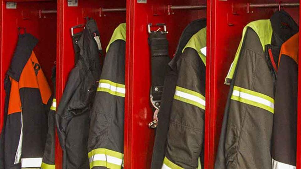 Fardas dos bombeiros