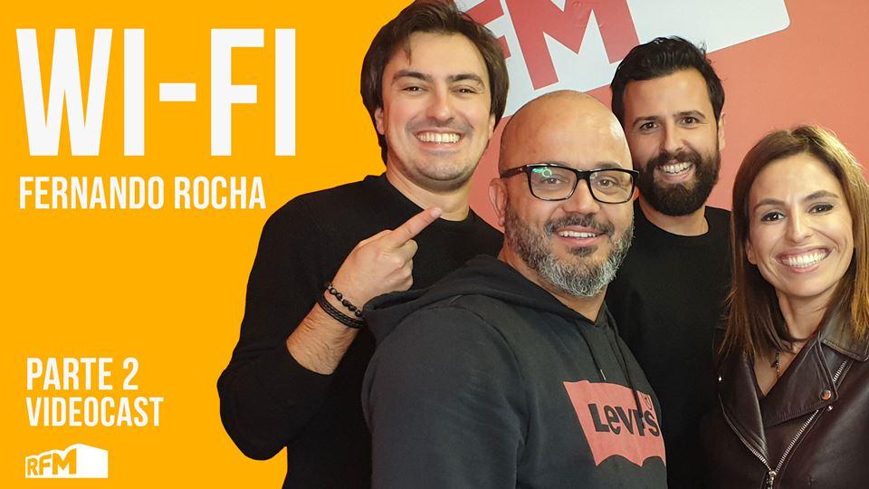 Fernando Rocha no Wi-Fi da RFM