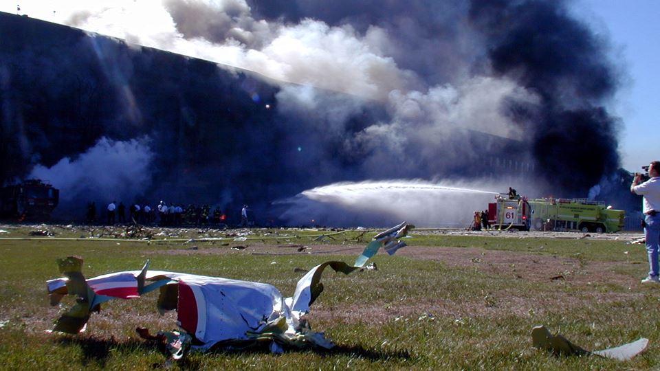 Destroços no Pentagono - Wikimedia Commons