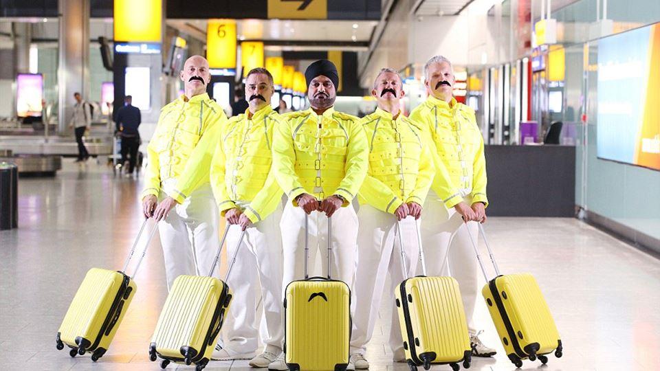 Freddie Mercury foi bagageiro....