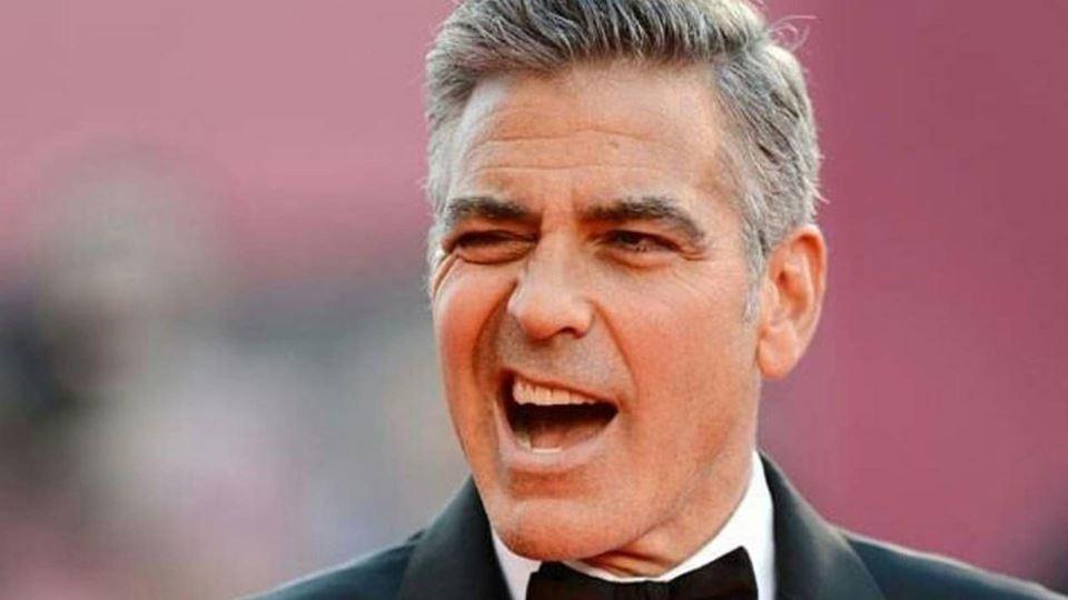 George Clooney afinal não vai ...