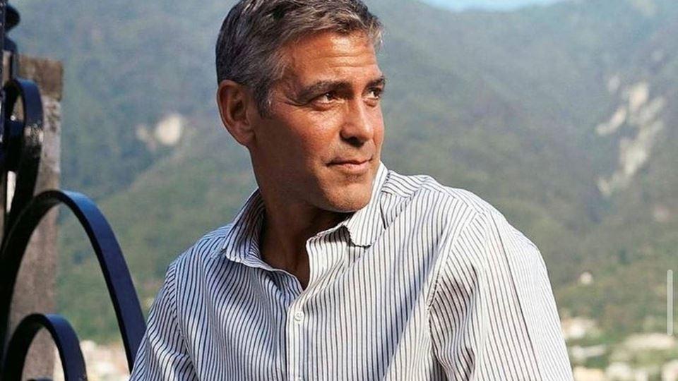 Após inundações, George Cloone...
