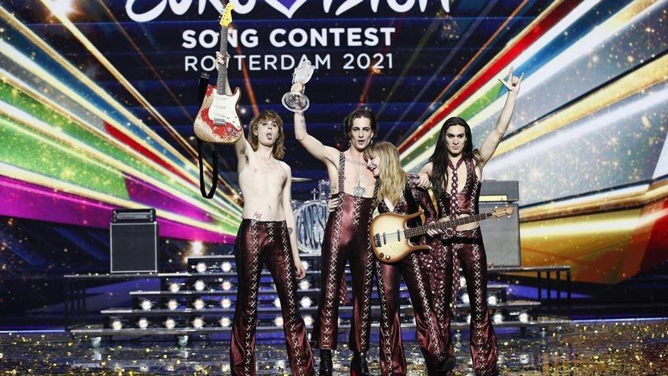 Vocalista vencedor da Eurovisã...