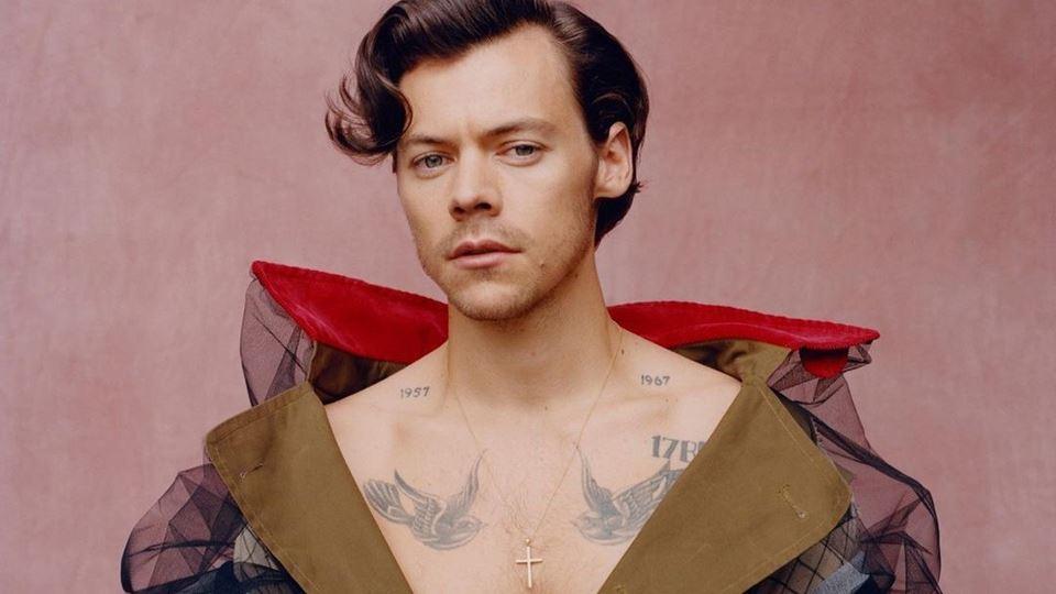 Harry Styles é o primeiro home...