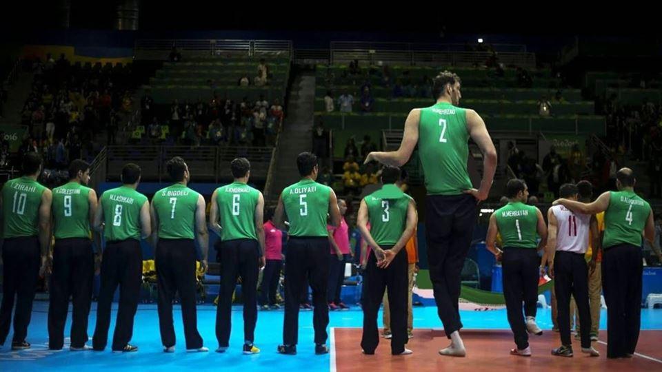 O atleta mais alto do mundo es...