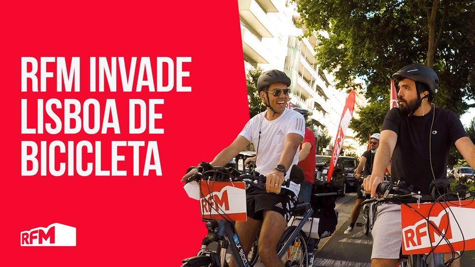 RFM invade Lisboa de bicicleta