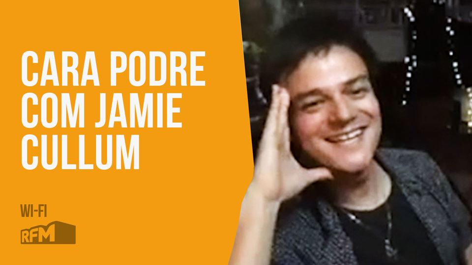 Jamie Cullum jogou à Cara Podr...