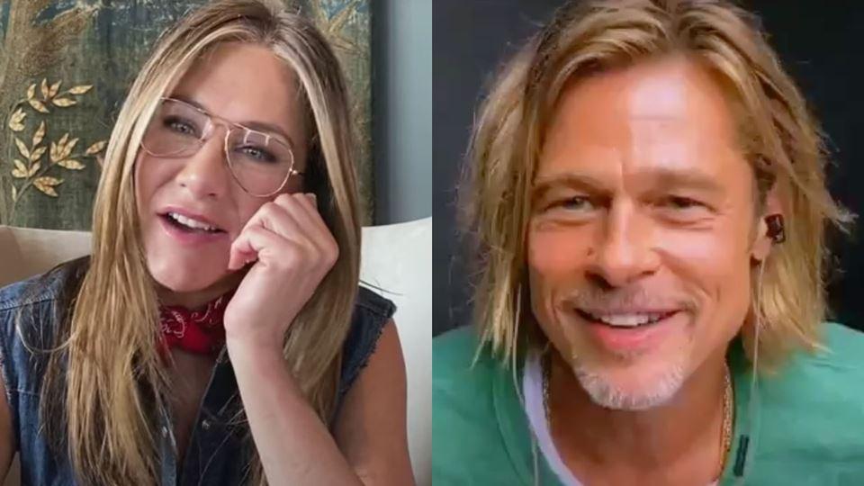 Jennifer Aniston e Brad Pitt r...