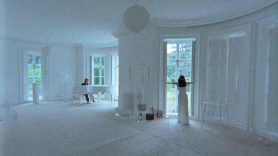 """John Lennon e Yoko Ono na casa de Tittenhurt Park a gravarem """"Imagine"""""""