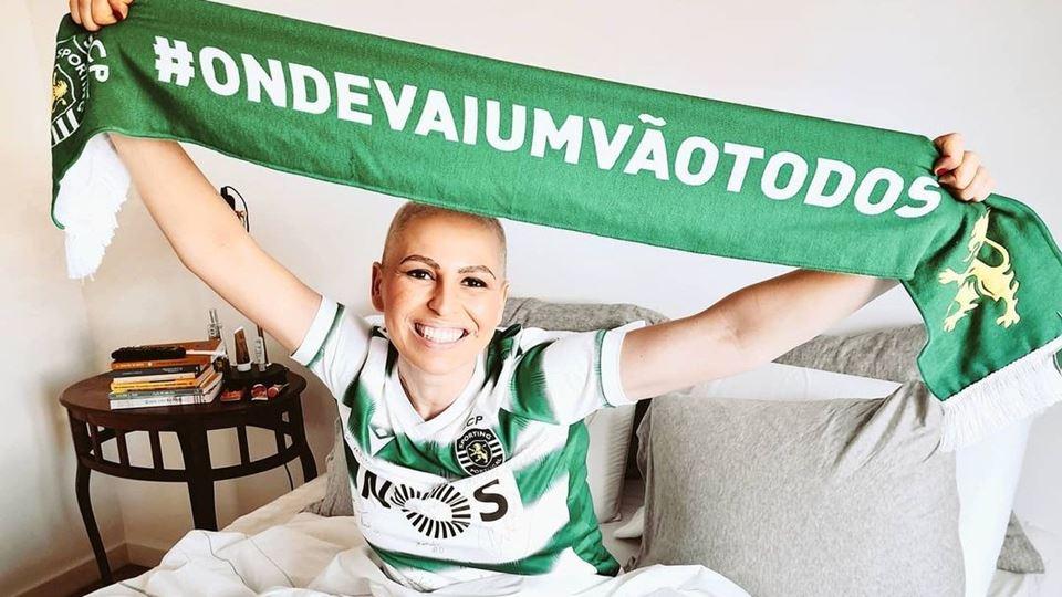 Joana Cruz agradece a vitória ...