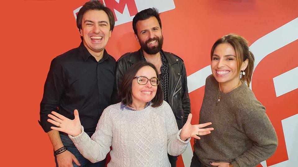 Joana Marques no Wi-Fi da RFM