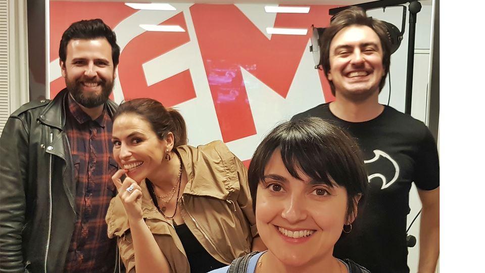 JOANA PAIS DE BRITO no wi-fi da RFM