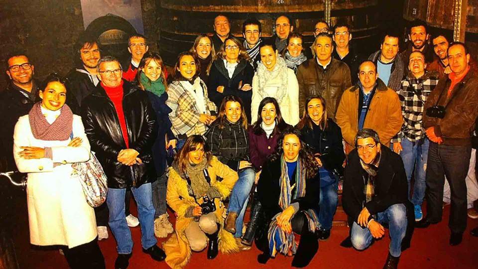 João Porto com a equipa da RFM