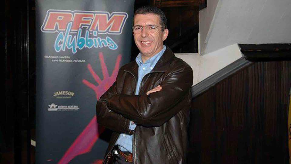 João Porto num evento da RFM
