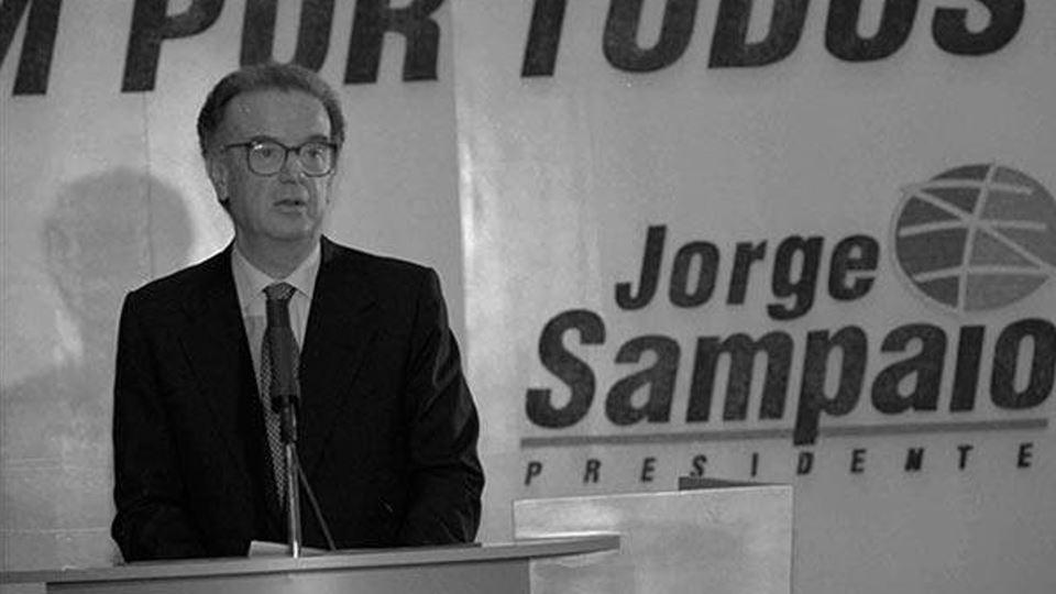 Jorge Sampaio como presidente