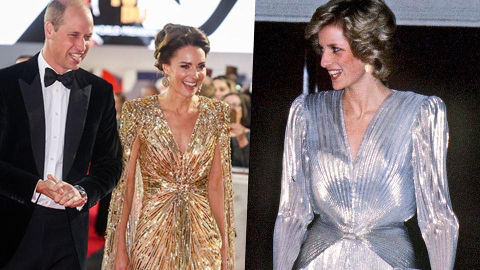 Kate Middleton príncipe William e princesa Diana