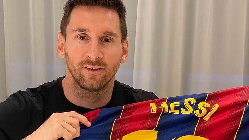 Messi está sem emprego e as re...