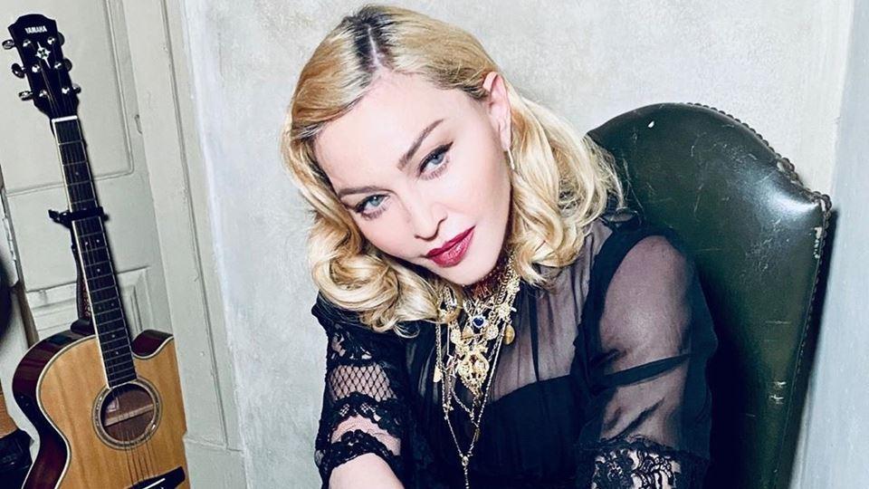 Madonna está de volta a Lisboa?