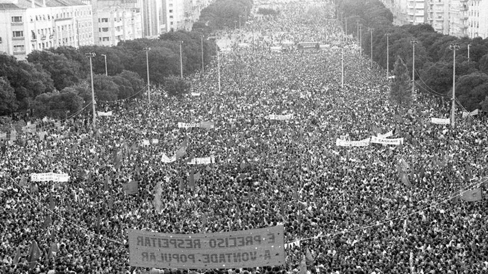 Manifestação do Dia do Trabalhador, em Portugal
