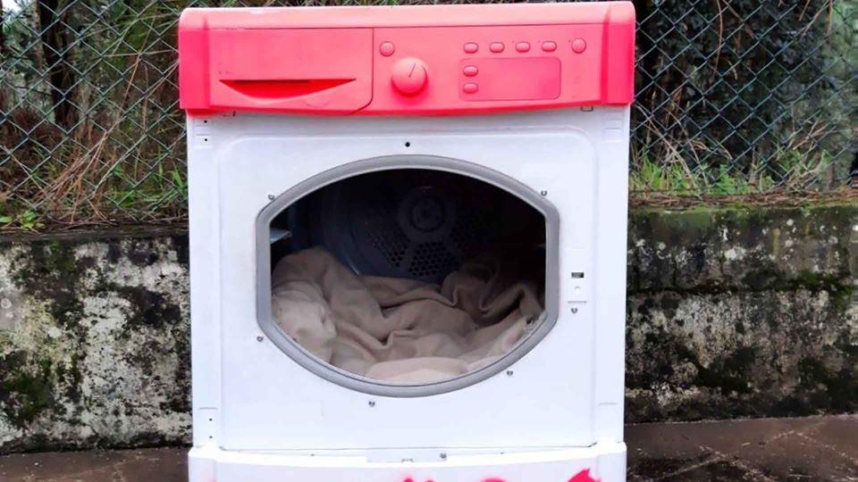 Em Valongo, máquinas de lavar ...
