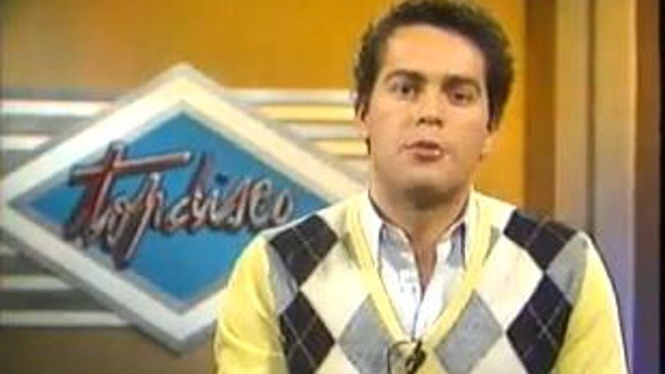 Marcos André no Top Disco