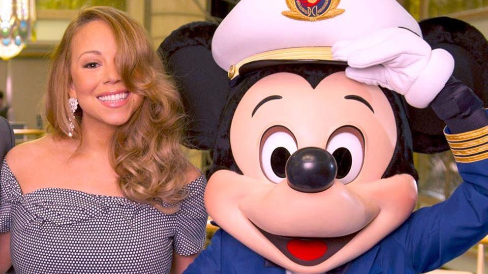 Mariah Carey é fada madrinha de um navio da Disney