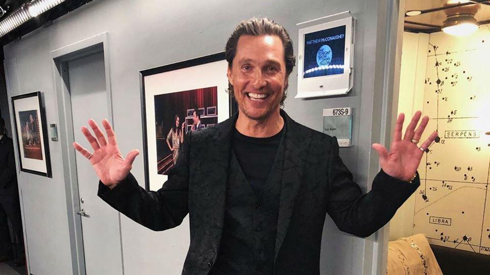Matthew McConaughey anima a no...