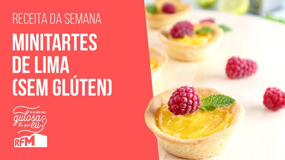 Minitartes de Lima (sem glúten)