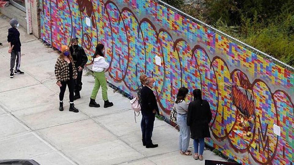 muro vandalizado
