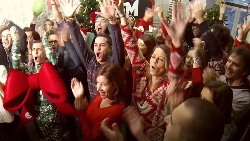Esta música de Natal da RFM fo...