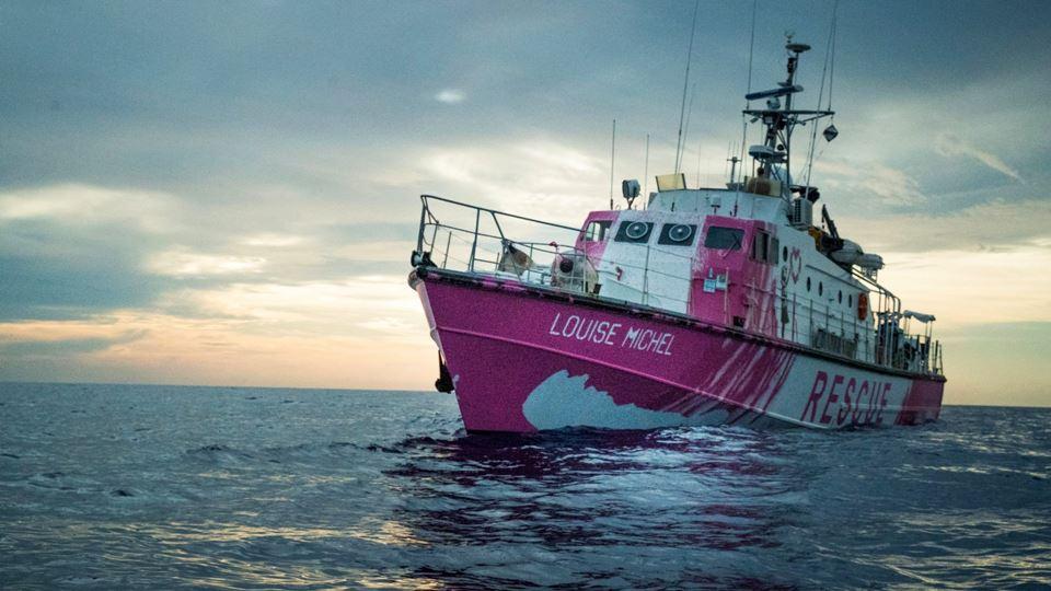 Navio de Banksy salva 219 migr...