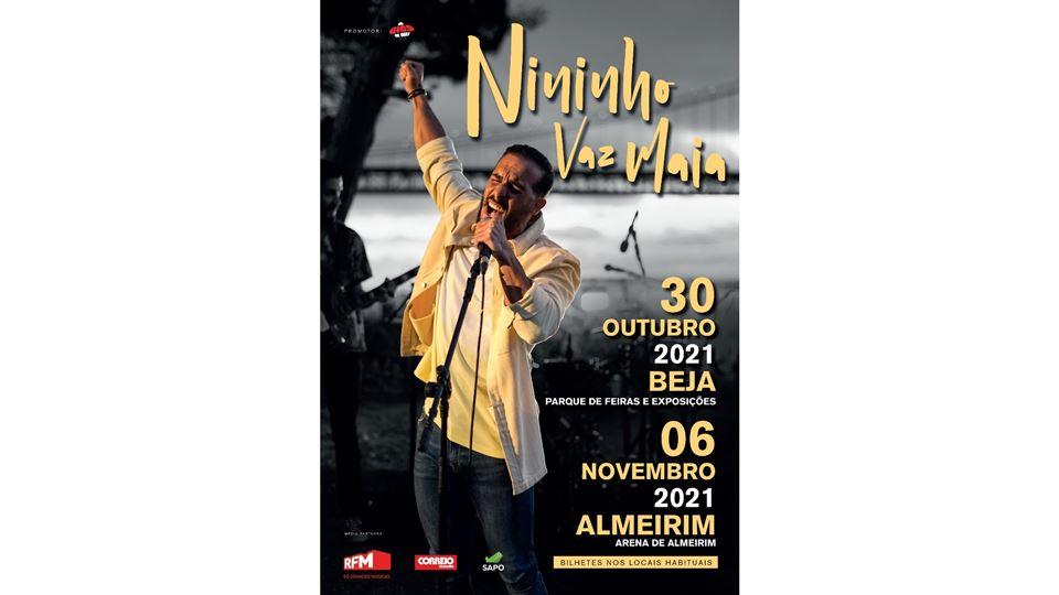 Nininho Vaz Maia canta em Beja e Almeirim