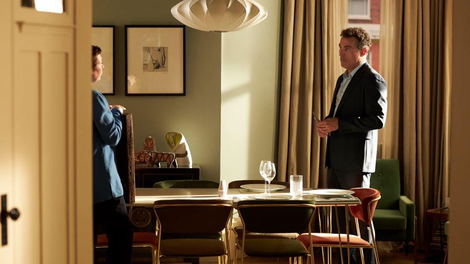 O Pai - Olivia Coleman (Anne) e Rufus Sewell (Paul)