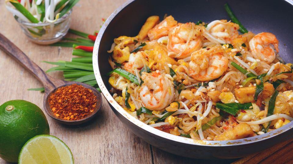 Chef Kiko resolve com Pad Thai