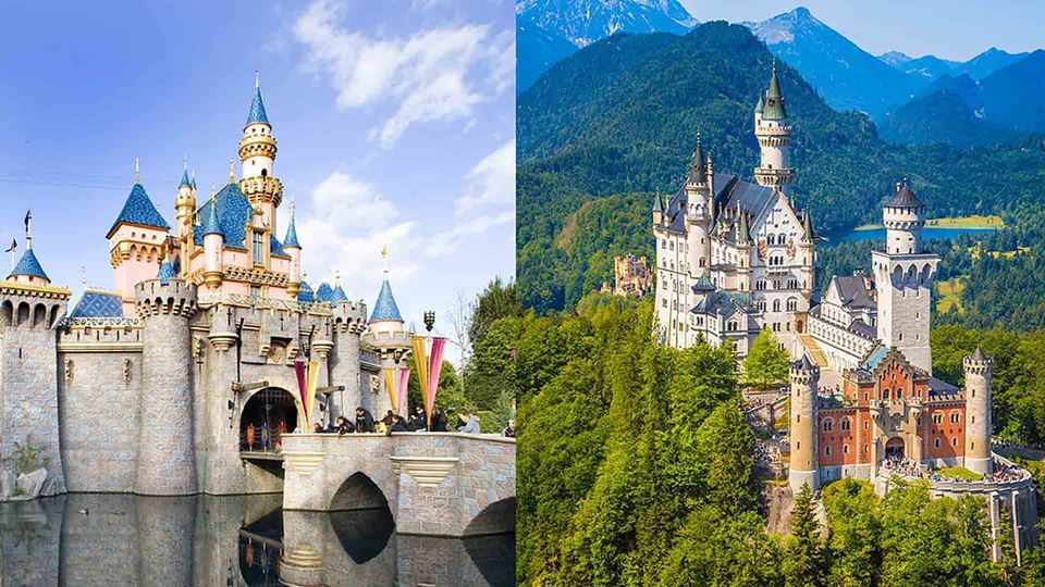 Estes são os palácios e cenári...
