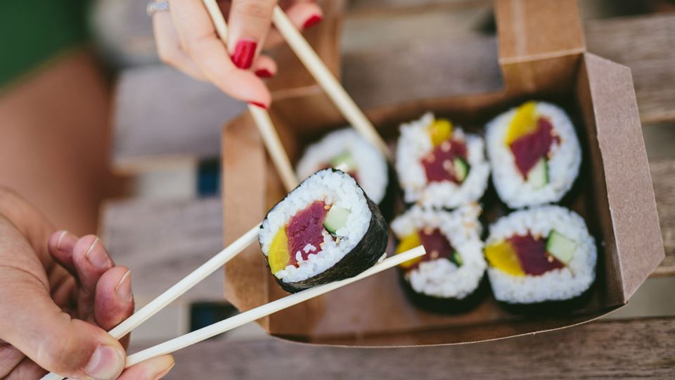 Partilhar sushi