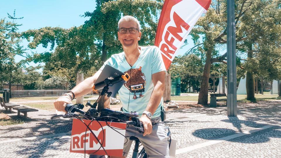 Paulo Fragoso bicicleta