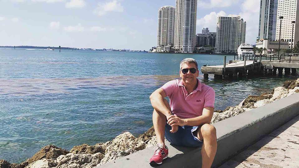 Paulo Fragoso em Miami