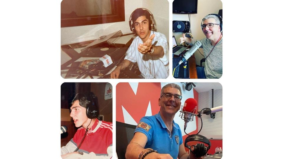 Paulo Fragoso na rádio