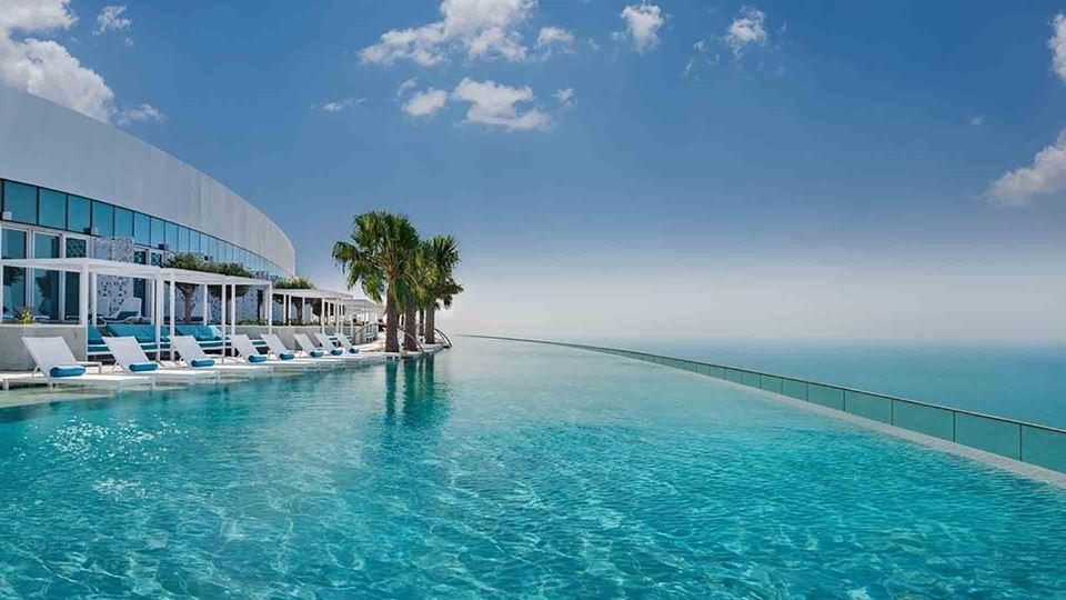 Esta é a piscina infinita mais...