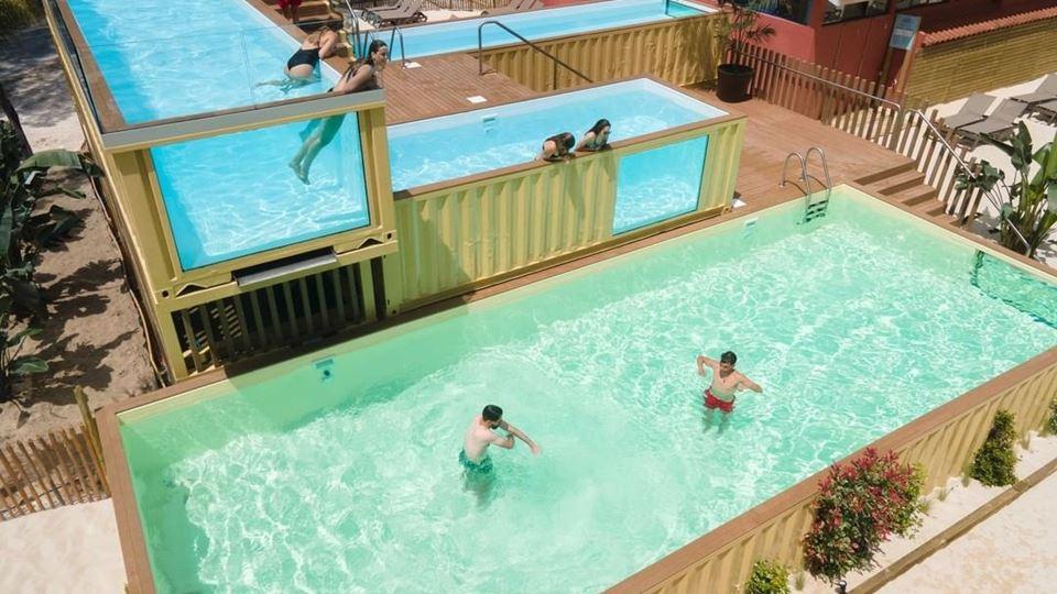 É portuguesa a piscina mais al...