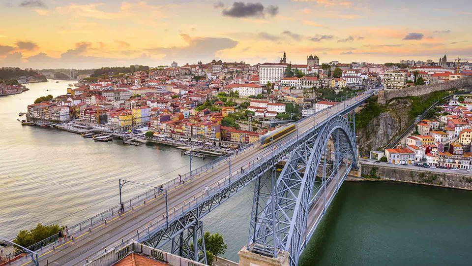Ponte Dom Luís no Porto