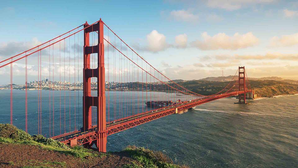 Ponte Golden Gate, em São Francisco