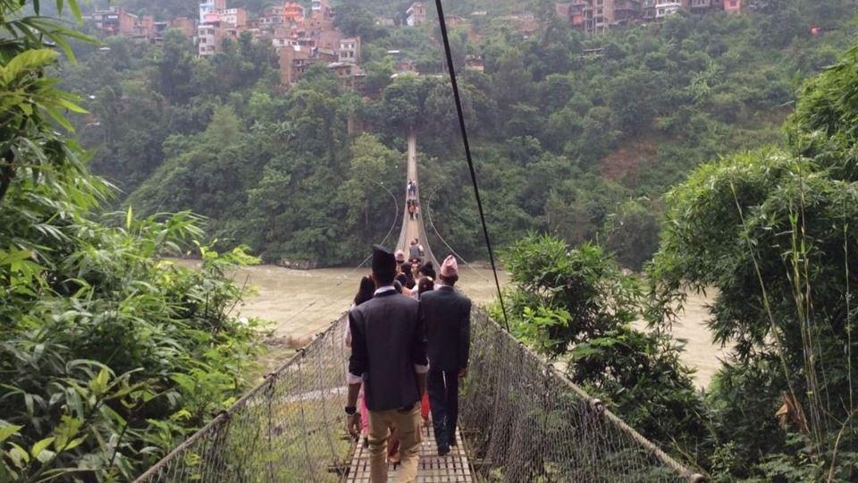 Afinal, a ponte suspensa de Ar...